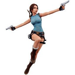 Player Select Lara Croft Tomb Raider Anniversary 7