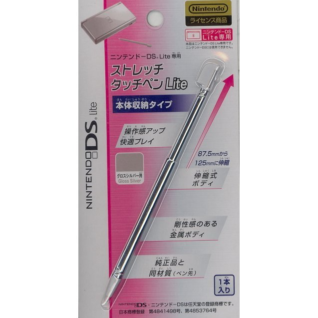 Stretch Touch Pen Lite - Gloss Silver