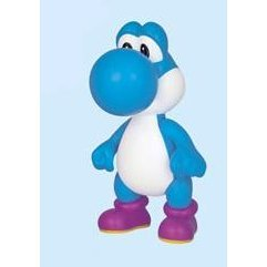 Nintendo Prize Collection Series Super Mario Characters Figure In Blister 2: Yoshi (Blue Version)