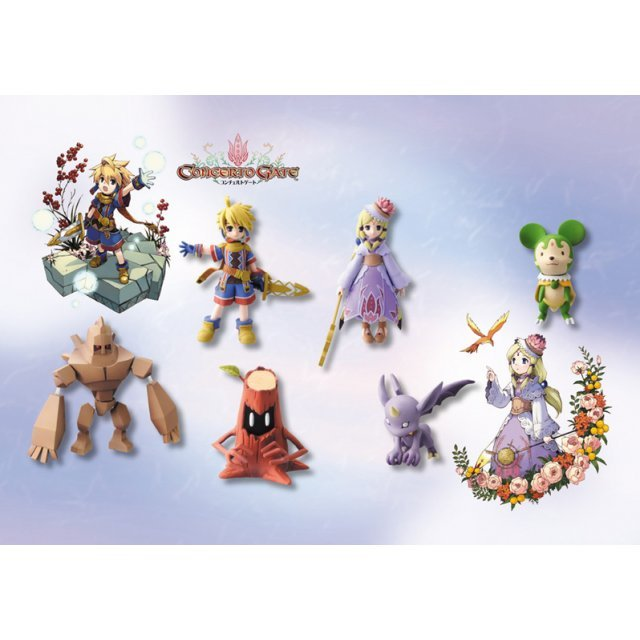 SR Concerto Gate Figure Collection Gashapon