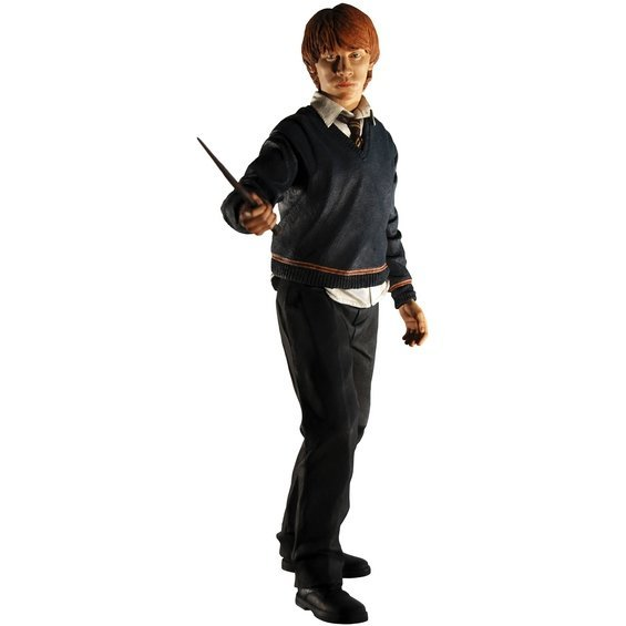 Harry Potter Order of the Phoenix: Ron Weasley 12inch Prepainted Sound ButtonFigure