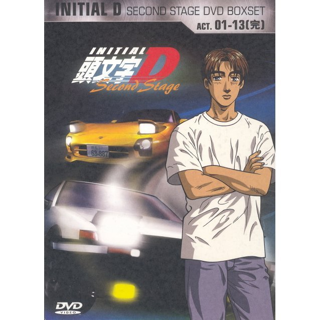Initial D [2nd Stage Boxset]