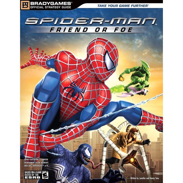 Spider-Man: Friend or Foe Official Strategy Guide