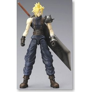 Final Fantasy VII - Play Arts Vol. 1: Cloud Strife (Re-run)