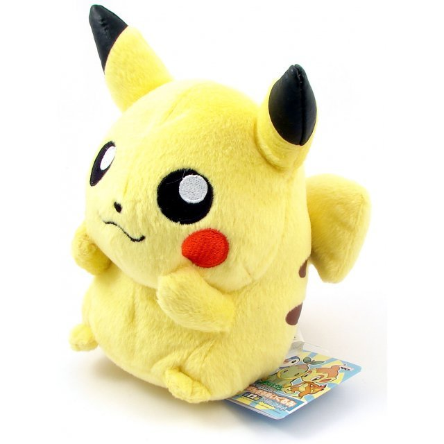 Pocket Monster Diamond & Pearl Assorted Plush Doll: Pikachu