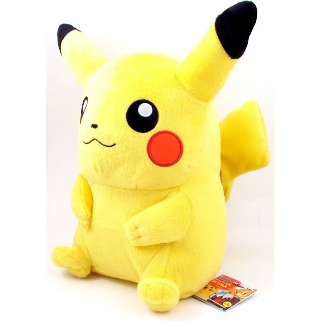 Pocket Monster Diamond & Pearl Super DX Plush Doll: Pikachu (Theater Version)