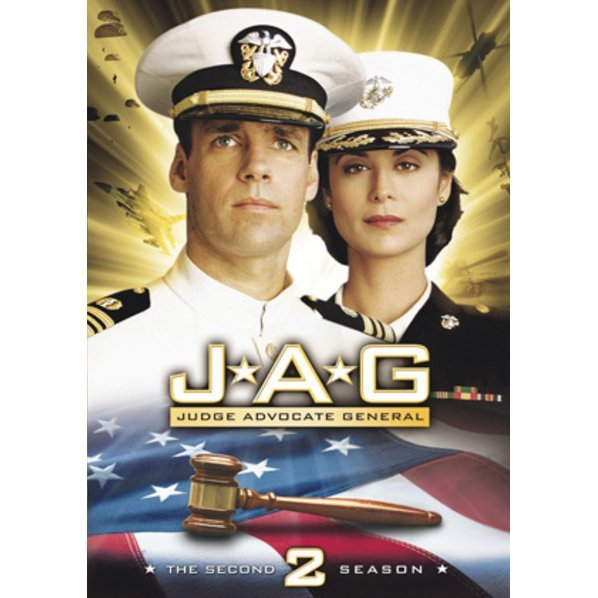 Jag Season 2 DVD Box