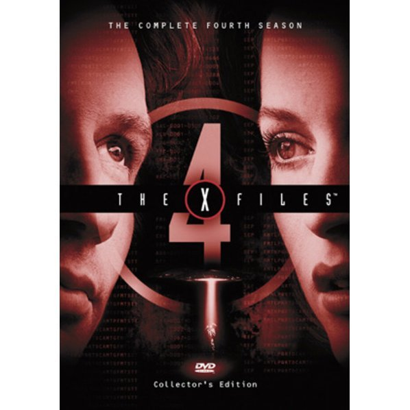 X-Files The Fourth Season DVD Box