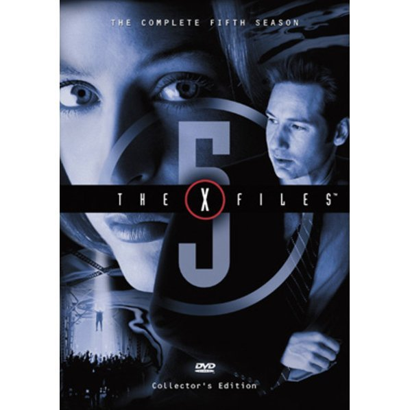 X-Files The Fifth Season DVD Box
