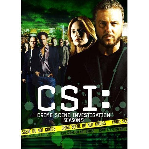 CSI: Crime Scene Investigation Season5 Complete Box I