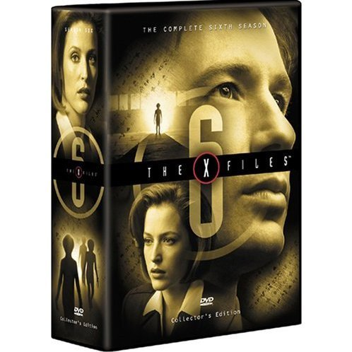 X-Files The Sixth Season DVD Box