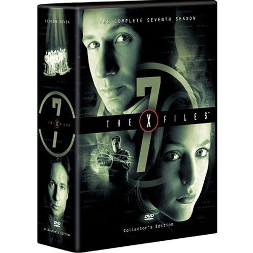 X-Files The Seventh Season DVD Box