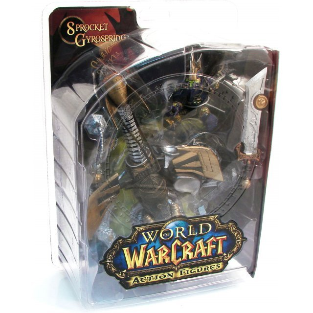World of Warcraft Series 2: Gnome Warrior - Sprocket Gyrospring Figure
