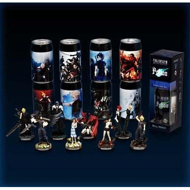 Final Fantasy VII 10th Anniversary Potion with Trading Arts Mini Figure