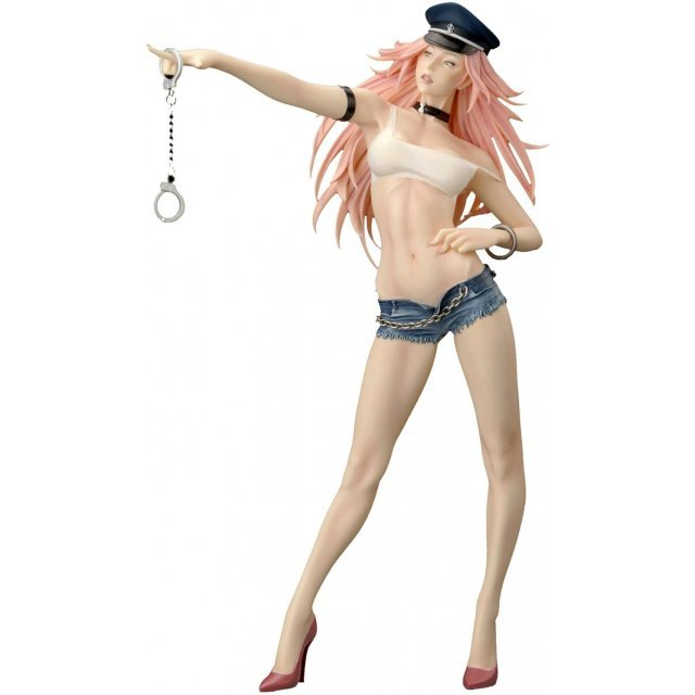 Capcom Girls Collection 1/6 Scale Prepainted PCV Statue - Poison (Street Fighter)