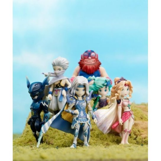 Final Fantasy IV Trading Arts Mini Figures