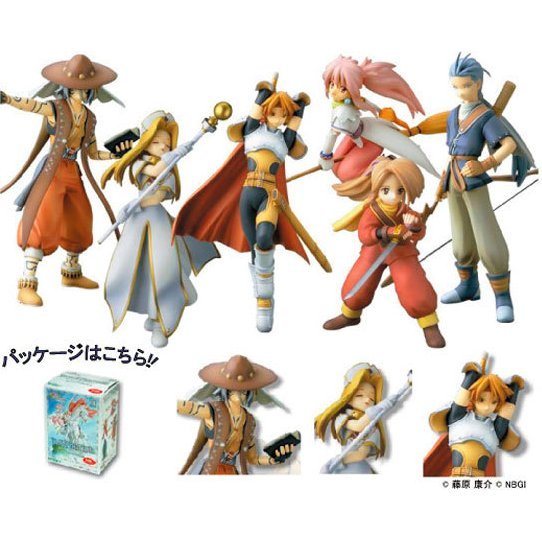 Tales of Phantasia One Coin Figures