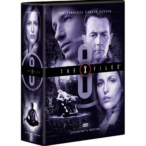 The X-Files: The Eighth Season DVD Box