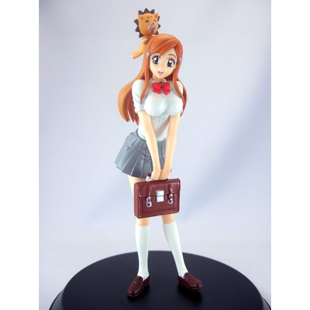 Bleach DX Girls Pre-Painted PVC Figure: Orihime Inoue & Kon