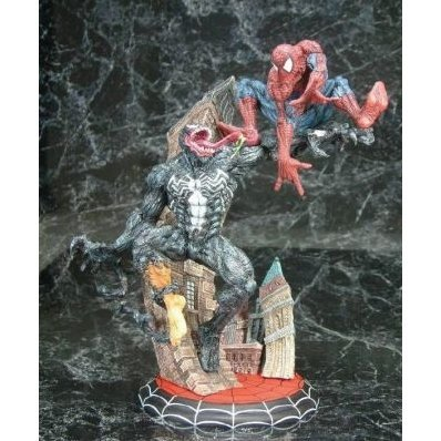 Spider-man vs Venom Cold Cast Statue (Limited to 1500pcs worldwide)