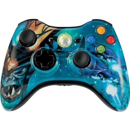 Halo 3 Covenant Xbox 360 Wireless Controller Limited Edition