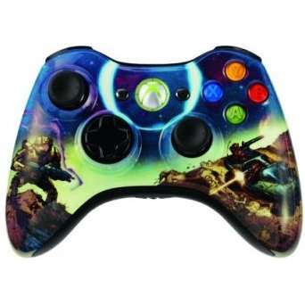 Halo 3 Spartan Xbox 360 Wireless Controller Limited Edition