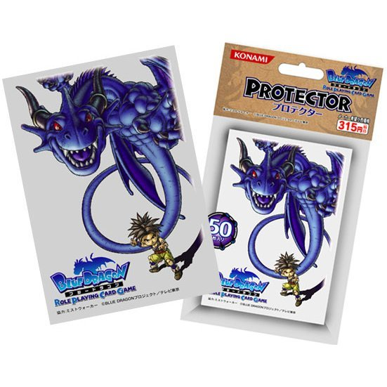 Blue Dragon Role Playing Card Game Protector