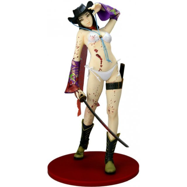 SIF EX The Onee Chanbara 1/6 Scale Pre-Painted PVC Figure: Aya (Special color Ver)