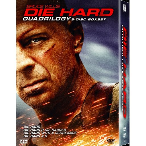 Die Hard Quadrilogy [8-Discs Boxset]
