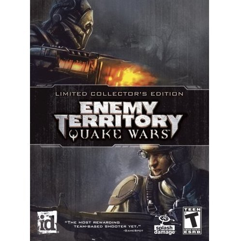 Enemy Territory Quake Wars Limited Collector's Edition (DVD-ROM)
