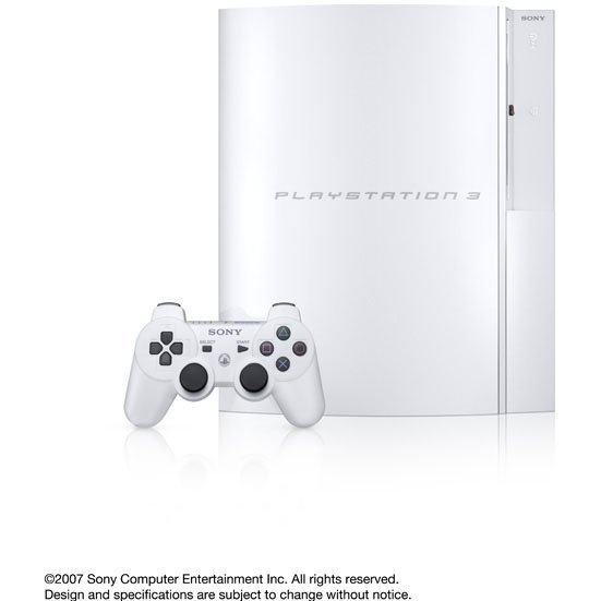 PlayStation3 Console (HDD 40GB Model) Clear White - 110V