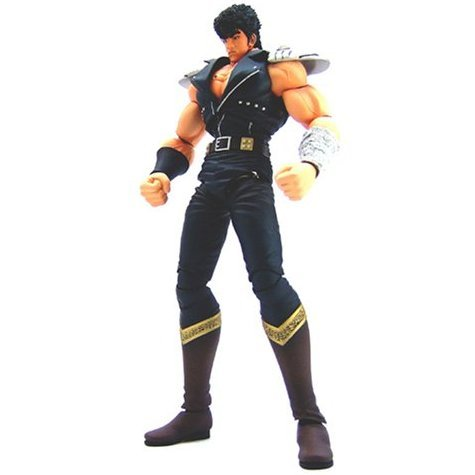 Hyper Hero Dynamite Alloy Collection Series 01 - Fist of The North Star 1/10 Scale Pre-Painted PVC Figure: Kenshiro