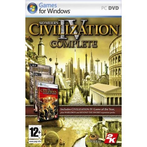 Sid Meier's Civilization IV: Complete (DVD-ROM)