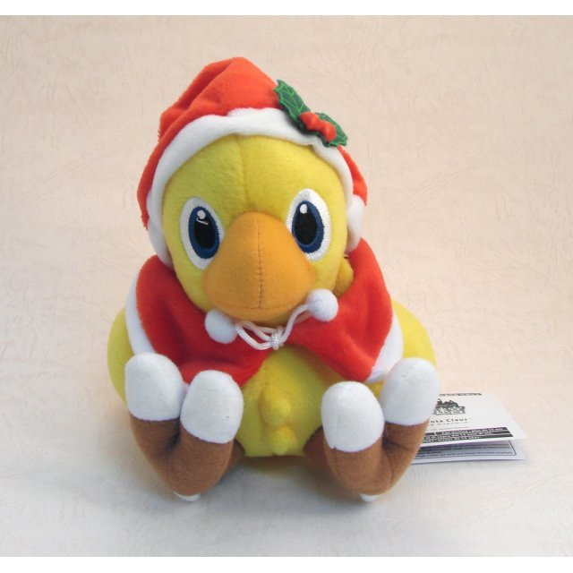 Final Fantasy Plush Doll: Chocobo (Santa Claus Version)