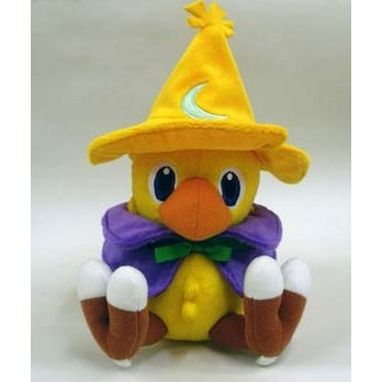 Final Fantasy Plush Doll: Chocobo (Black Mage Version)(Re-Run)