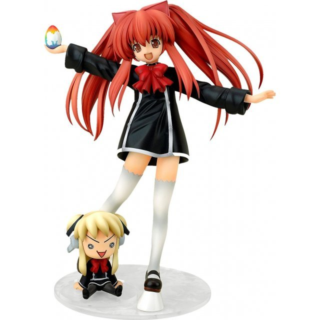 Quiz Magic Academy 1/8 Scale Pre-Painted PVC Figure: Aloe & CPU Shalon