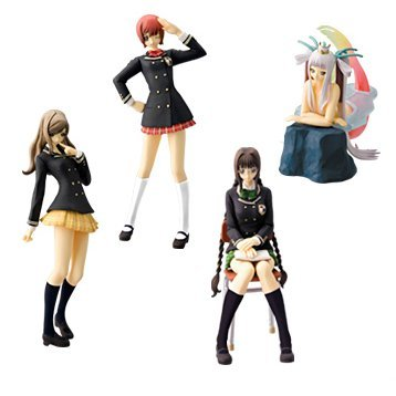 SR Shining Wind Figure Collection Gashapon Part 2