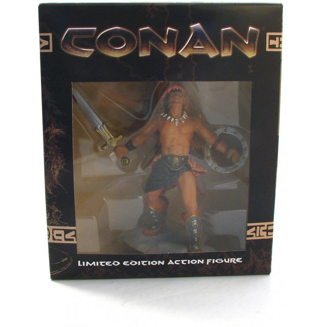 Conan Pre-Painted PVC Figure: Black Wolf (Limited Edition)