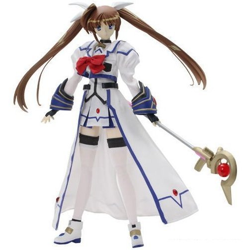 Magical Girl Lyrical Nanoha StrikerS 1/6 Scale Pre-Painted PVC Figure: Takamachi Nanoha