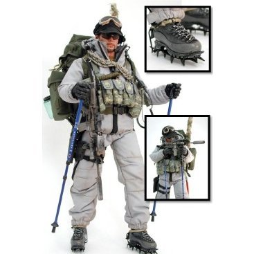 Navy Seal Mountain Ops Military 1/6 Scale Pre-Painted: Sniper (PCU ver.)