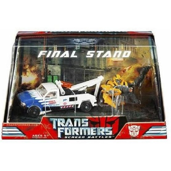 Screen Battles SB-02 Transformers Movie Final Stand Figure set