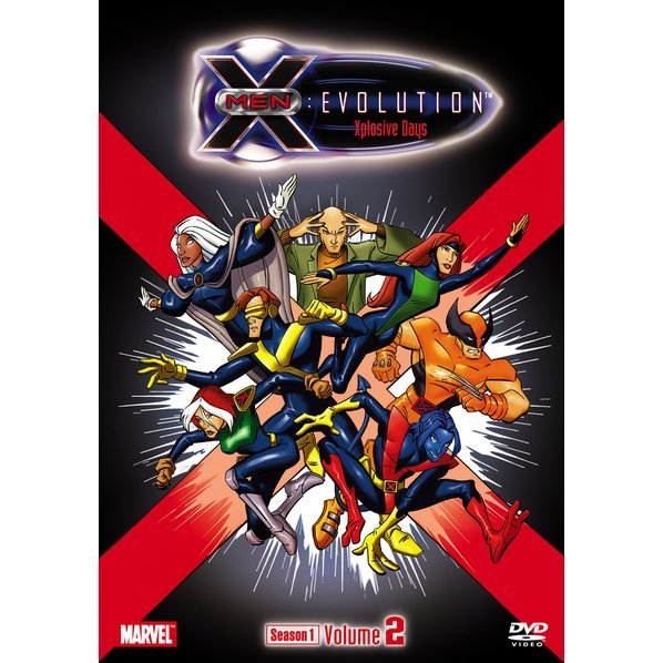 X-Men - Evolution Season 1 Volume2 - Xplosive Days [Limited Pressing]