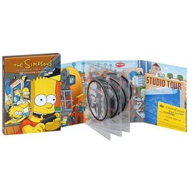The Simpsons Season 10 DVD Collector's Box