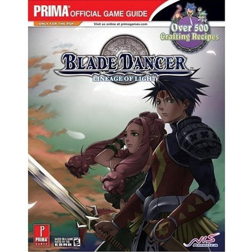 Blade Dancer: Lineage of Light Prima Official Game Guide