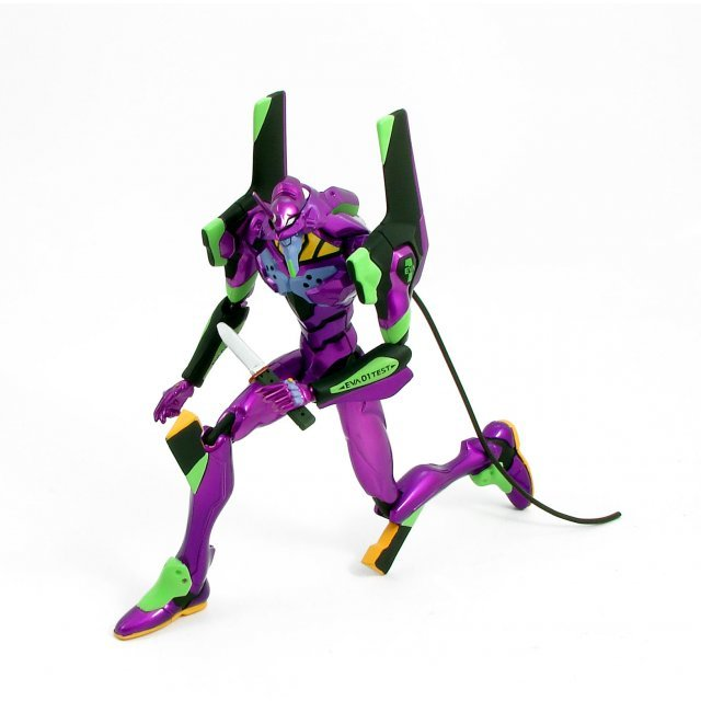 Neon Genesis Evangelion 1/7 Scale Metallic Pre-Painted Action Figure: EVA-01 Test Type