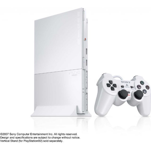 PlayStation2 Console Ceramic White (SCPH-90000CW)