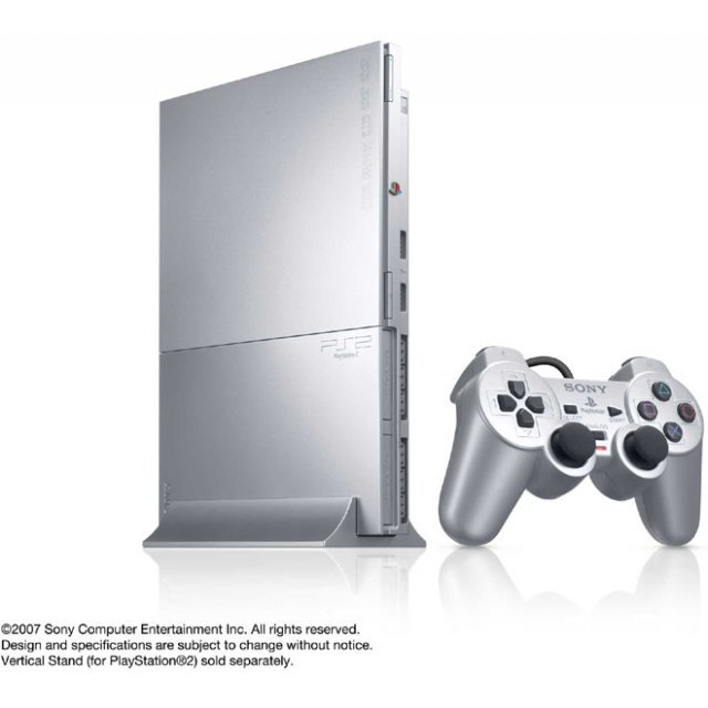 PlayStation2 Console Satin Silver (SCPH-90000SS)