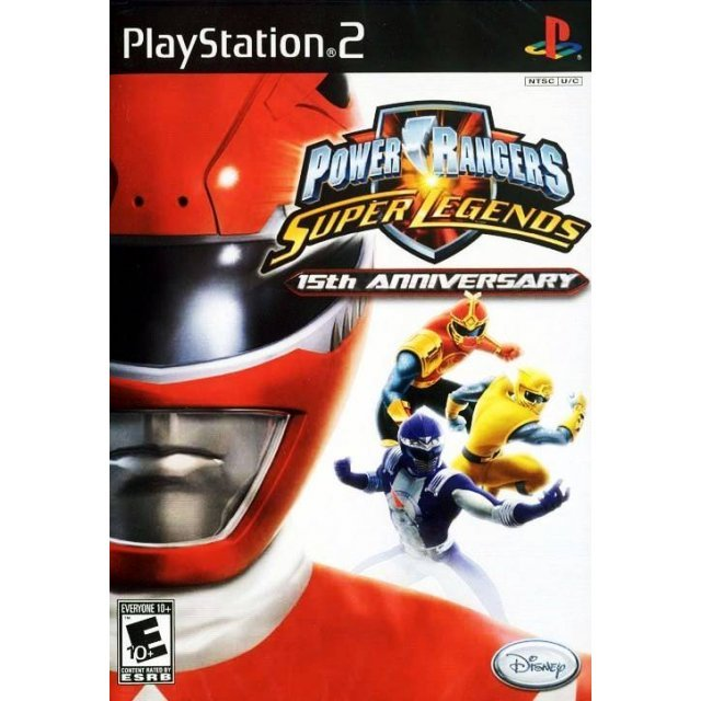 Power Rangers: Super Legends - 15th Anniversary