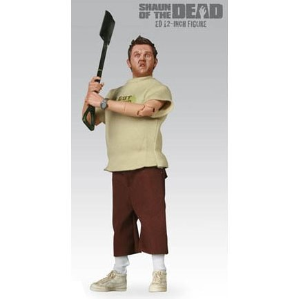 Shaun of the Dead Pre-Painted Action Figure: Ed