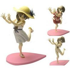 To Heart 2 Non Scale Pre-Painted PVC Figure: Komaki Ikuno (DVD Jacket Version)